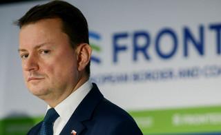 Błaszczak o szefe PE: Ulega fake newsom i kłamstwom totalnej opozycji