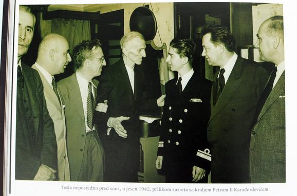 Sa kraljem Petrom drugim, 1942.