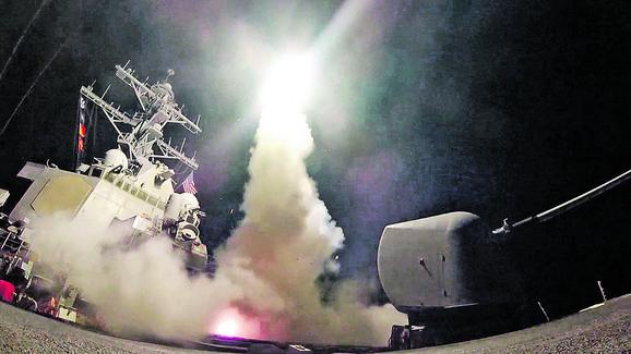 Bombardovanje Sirije poslužilo je za demonstraciju američkih vojnih kapaciteta