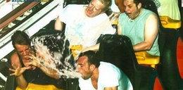 Śmieszne zdjęcia z rollercoastera. Galeria