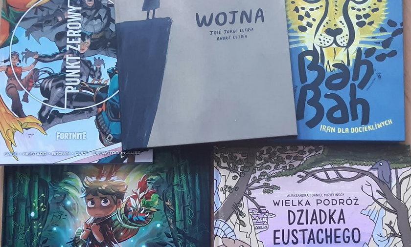 Pięć książek na jesień dla dzieci.