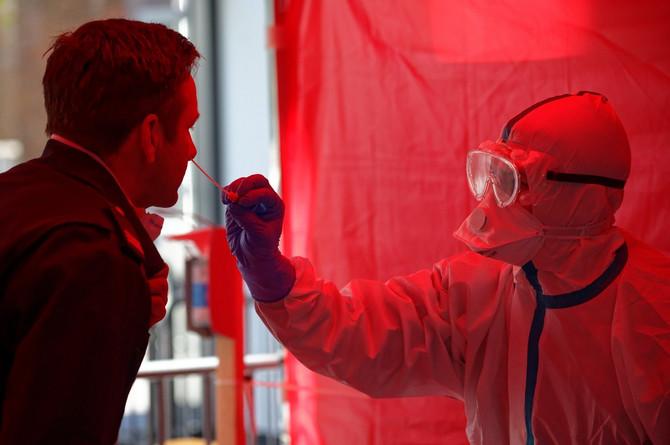 Testiranje korona virus