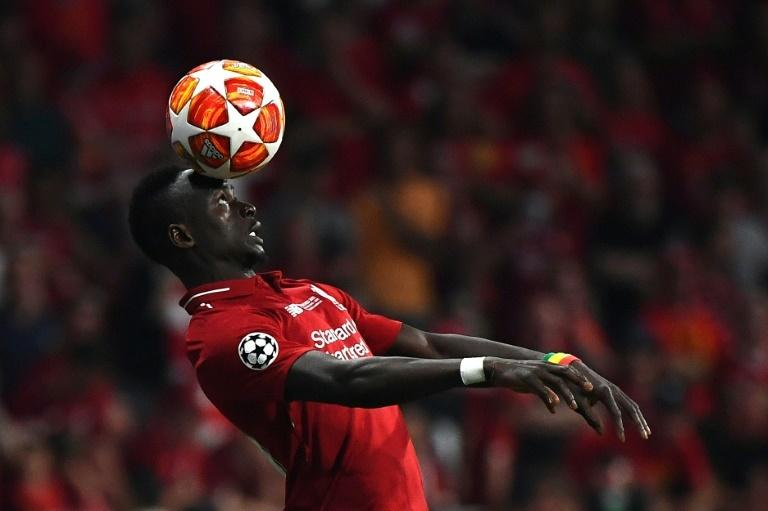 Liverpool star Sadio Mane demonstrates the aerial skills that Senegal hope will help them win the Africa Cup of Nations for the first time