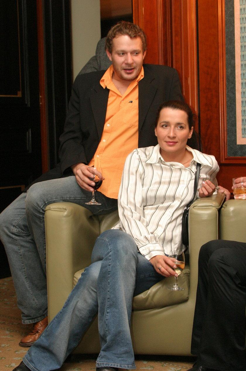Grzegorz Małecki i Kinga Ilgner