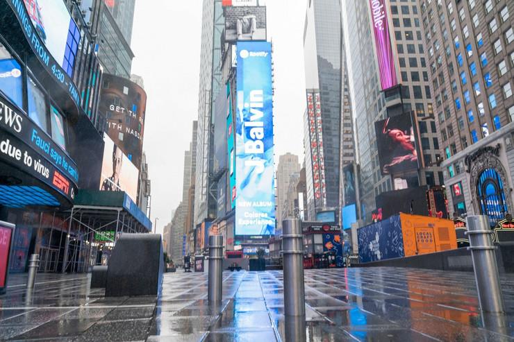 Njujork prazne ulice profimedia-0509034190