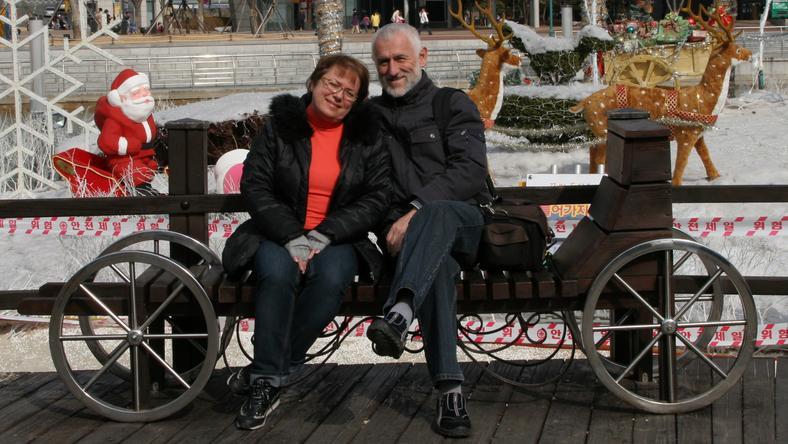 Małgorzata Kalicińska i Vlad Miller w Korei Południowej