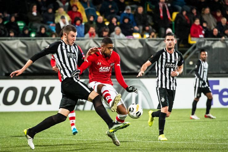FK AZ Alkmar, FK Partizan