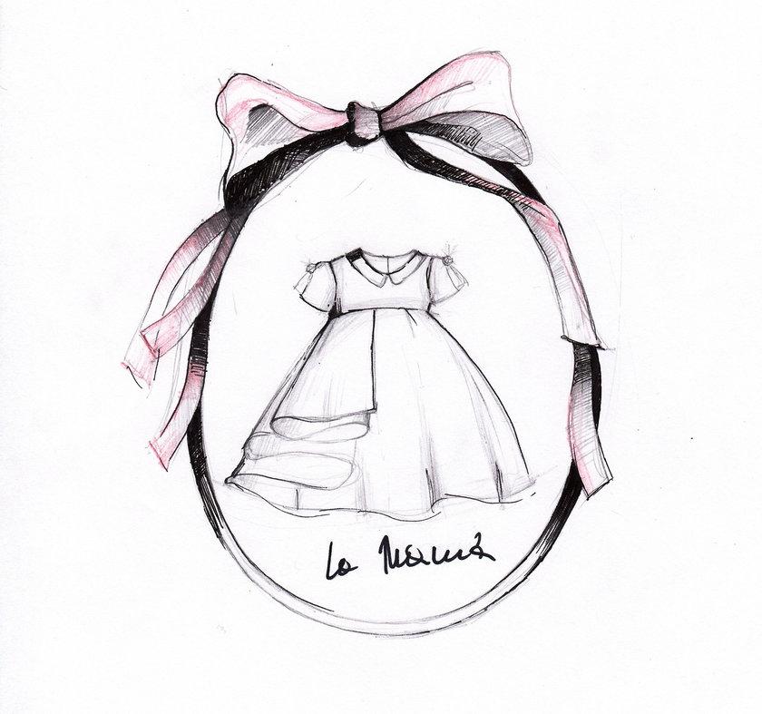Dziecięca sukienka od La Manii