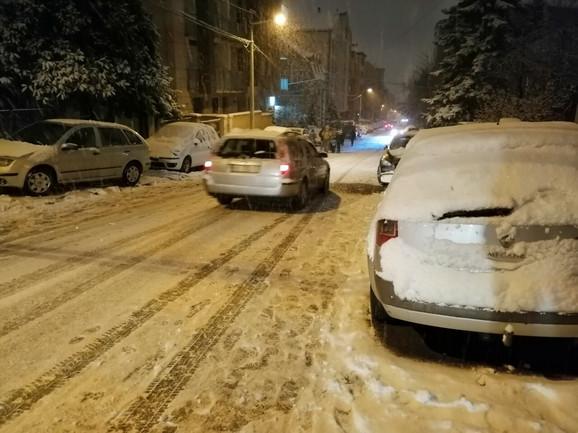 U Beogradu sneg i led