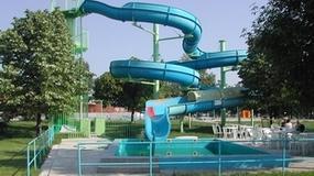 Aquapark: Horné Saliby