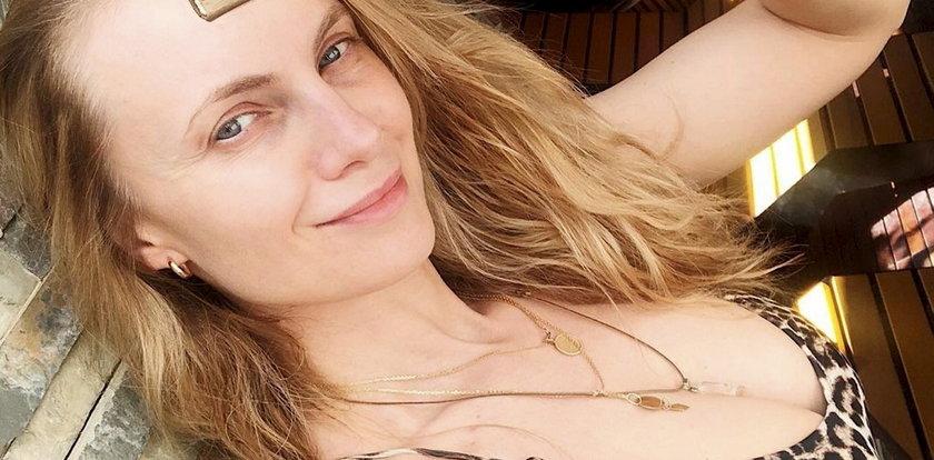 Sylwia Gliwa pozuje nago. Internautom nie spodobała się nieudolna cenzura
