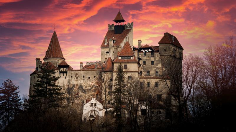 Zamek Bran, Transylwania