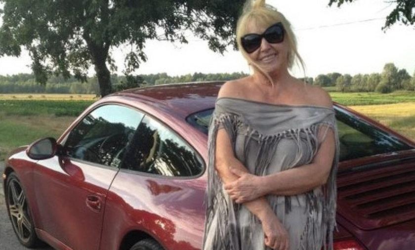 Maryla Rodowicz i jej zepsute Porsche