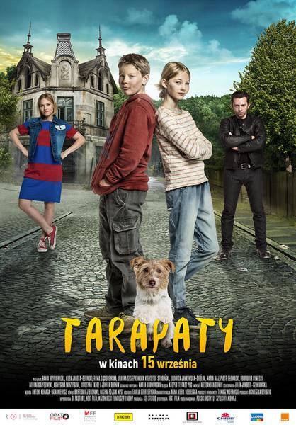 """""""Tarapaty"""": plakat"""