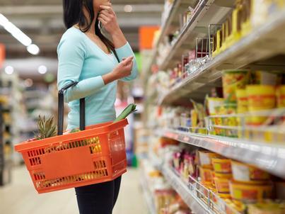 Z danych GUS wynika, że w grudniu żywność zdrożała średnio o 5,8 proc.