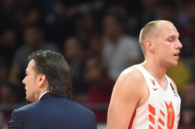 Trener crveno-belih Andrija Gavrilović i Dejan Davidovac