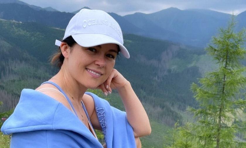 W lipcu Katarzyna Cichopek wypoczywała w górach. Jeden z jej strojów wywołał lawinę komentarzy w sieci