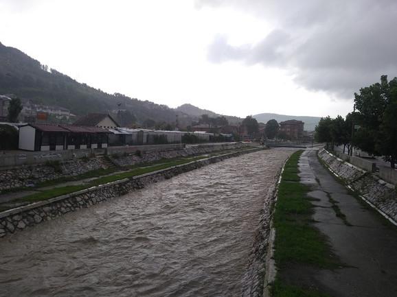 Raška u svom koritu, Novi Pazar