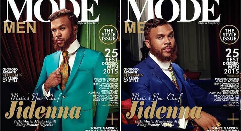 Jidenna for Mode Men September 2015 issue