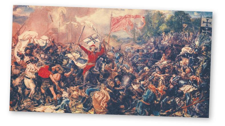 Bitwa pod Grunwaldem 1410 – obraz Jana Matejki