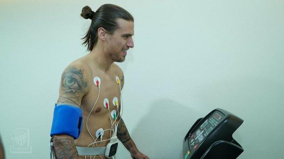 Aleksandar Prijović na lekarskim pregledima