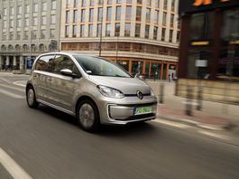 Volkswagen e-up! - eeee, małyy!