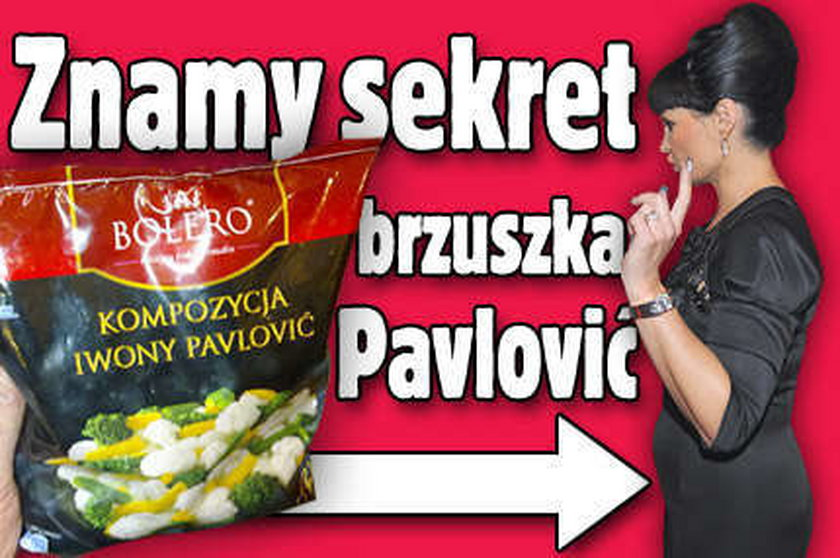 Znamy sekret brzuszka Pavlović