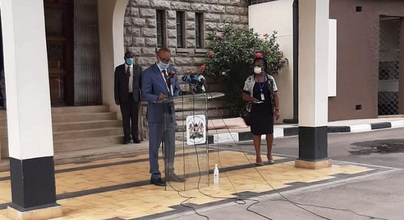 5 Kenyans in United States have died of Coronavirus - Foreign Affairs PS Kamau Macharia