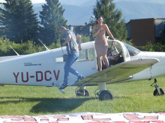 Iznenađenje: Nebojša i Tamara na kraju leta