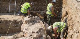 Podczas budowy drogi wykopali ludzkie szkielety