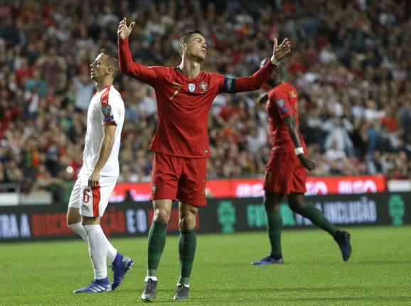 Kristijano Ronaldo u neverici