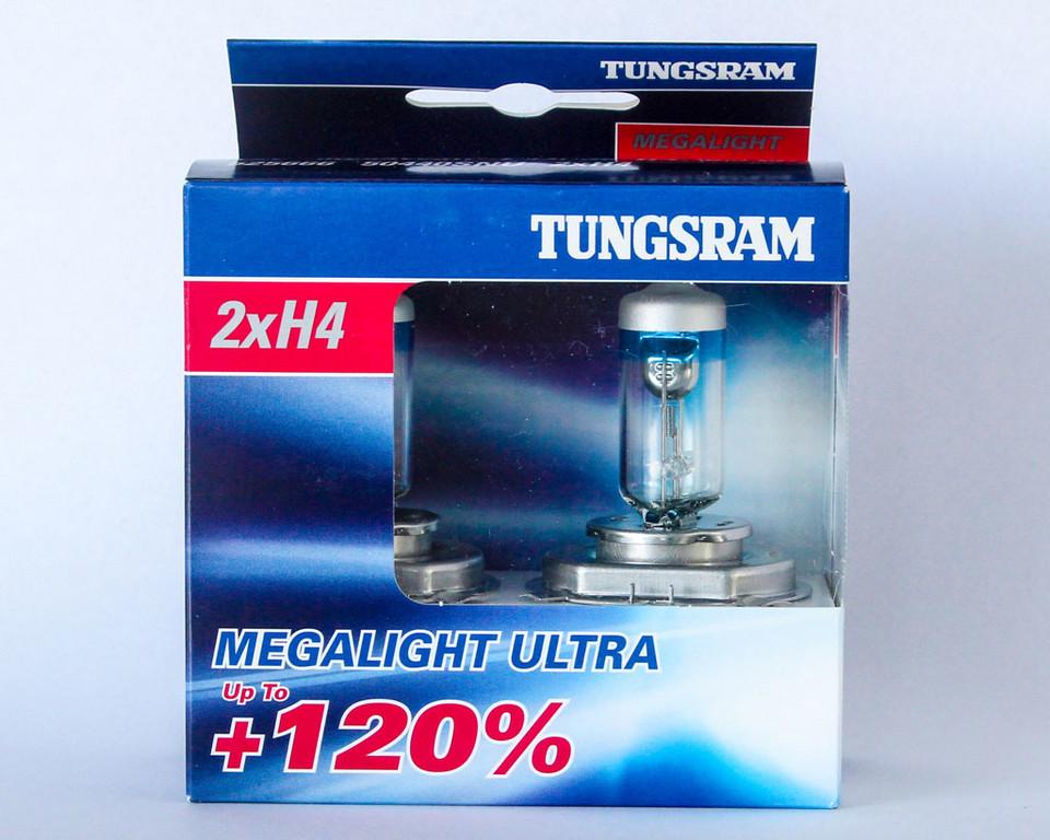 Tungsram Megalight Ultra + 120% цена 31,50 зл. / Комплект