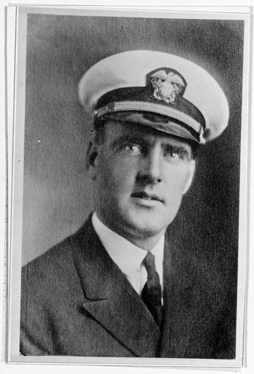 Chief Boatswain Edwin Joseph Hill, who saved shipmates from Japanese fighters.