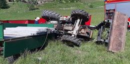 Koszmarny wypadek podczas prac polowych. Nie żyje mężczyzna i dziecko