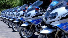 10 motocykli BMW R1200RT rozpoczęło służbę w warszawskiej drogówce