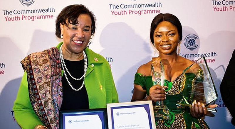 Stand to End Rape founder, Ayodeji Osowobi named Commonwealth Young Person of the Year