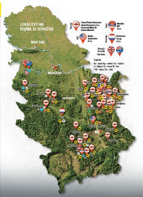 Srbija bi od otvaranja rudnika litijuma mogla da računa na godišnje prihode od više stotina miliona evra