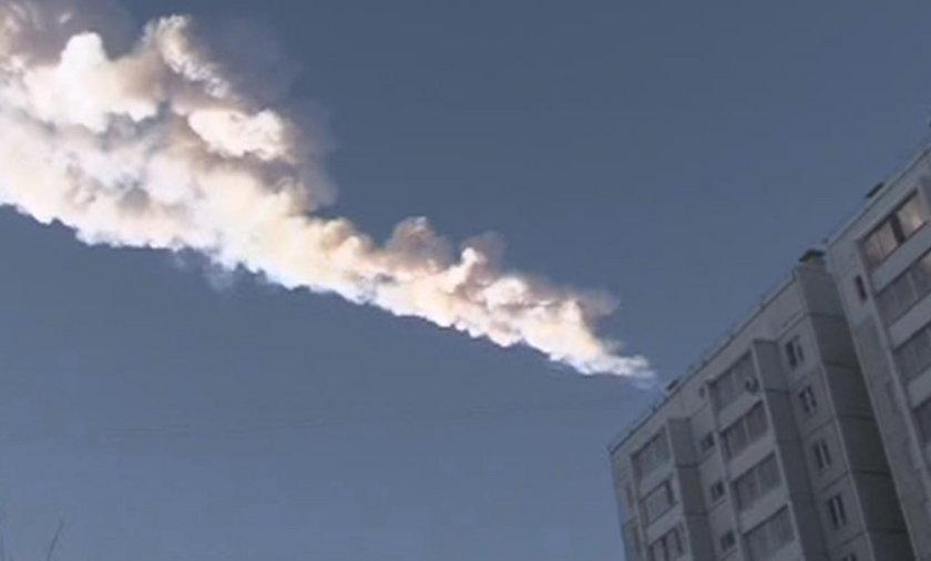 Meteoryt spadł na rosję