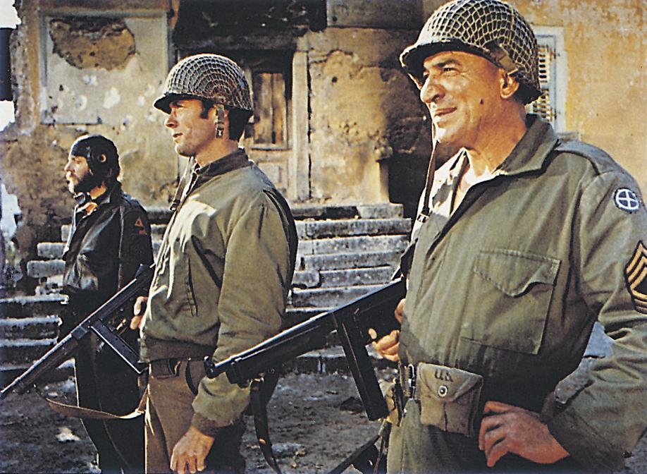 Donald Sutherlanddel és Telly Savalasszal a Kelly hőseiben (Fotó: RAS-archív)