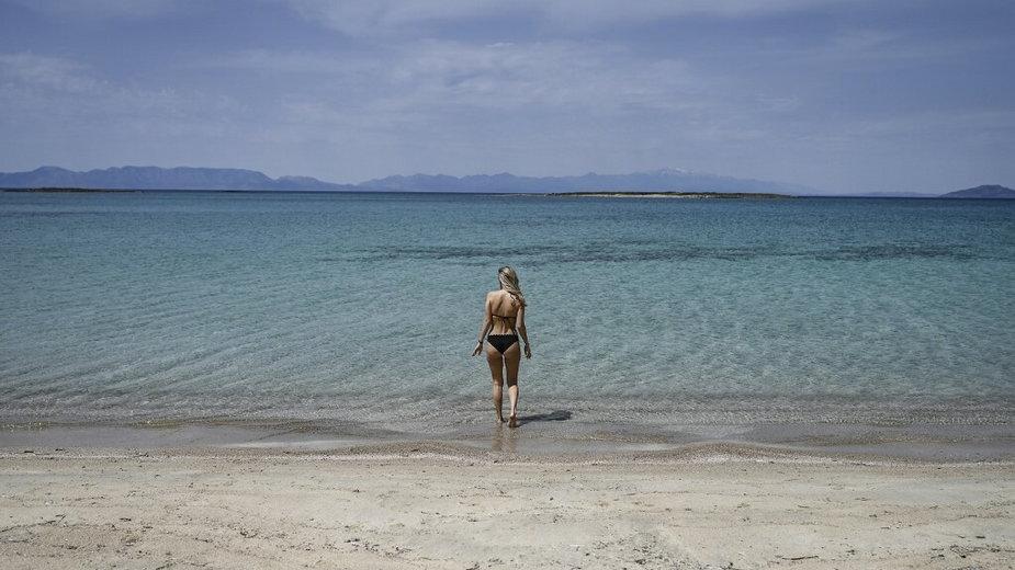 Koronawirus w Grecji. Rajska wyspa Elafonisos przygotowuje się do wakacji