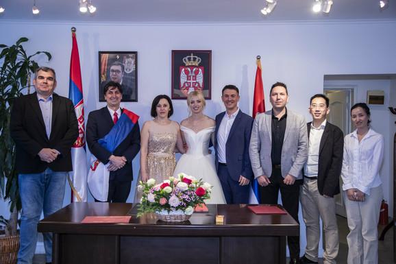 Svečanost u srpskom konzulatu u Šangaju