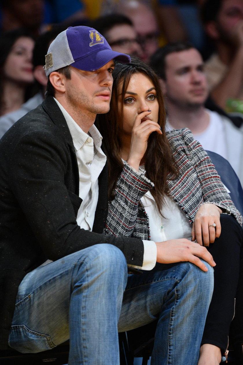 Mila Kunis z Ashtonem Kutcherem