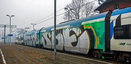 Grafficiarze atakują Koleje Śląskie