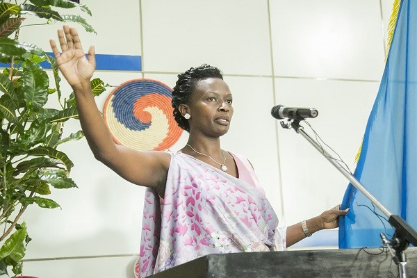 Marie-Chantal Rwakazina. (Rwanda Today)