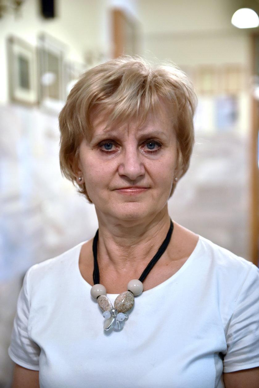 Ewa Wojciechowska - Dyrektor I LO w Łodzi