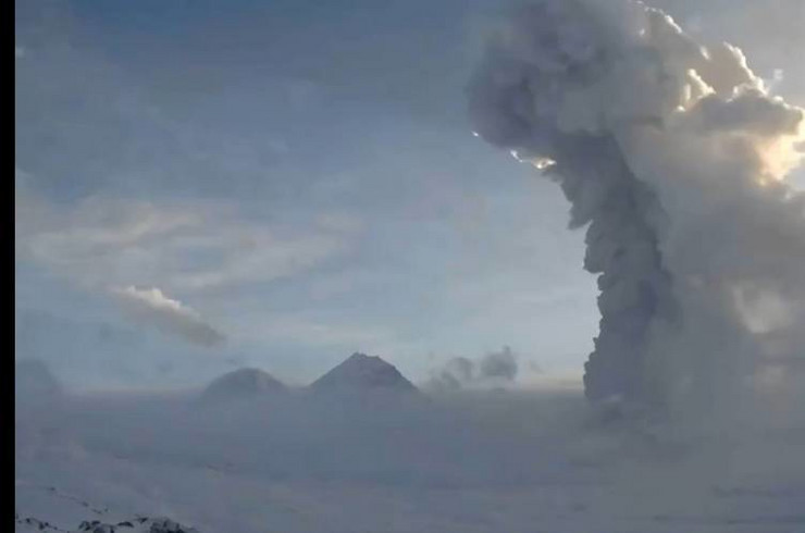 Kamčatka vulkan