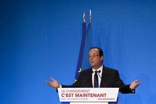 Francja: Złożą Hollande'a ofiarnego