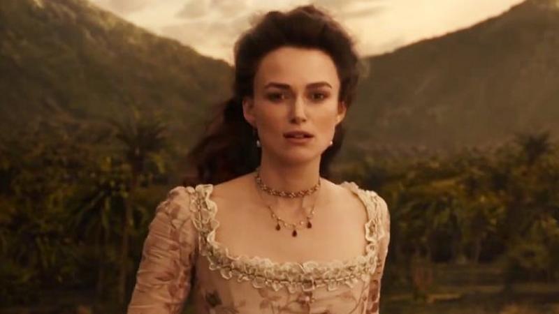 """Keira Knightley w filmie """"Piraci z Karaibów: Zemsta Salazara"""""""