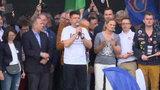 Petru na marszu: posadziliśmy Kaczyńskiego przed internetem