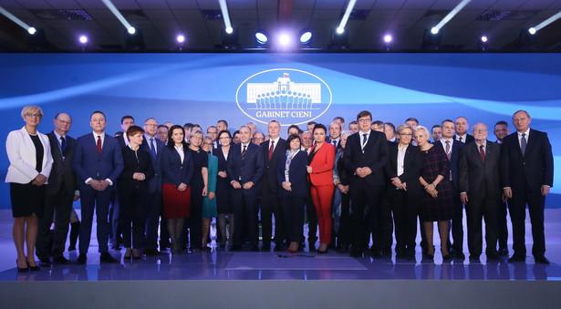 Politycy PO podczas posiedzenia Rady Krajowej Platformy Obywatelskiej
